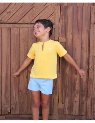 BOÉTIE TIENDA Camiseta Amarilla Boétie