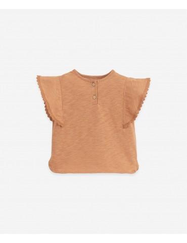 TIENDA Camiseta Rayas Teja Algodón
