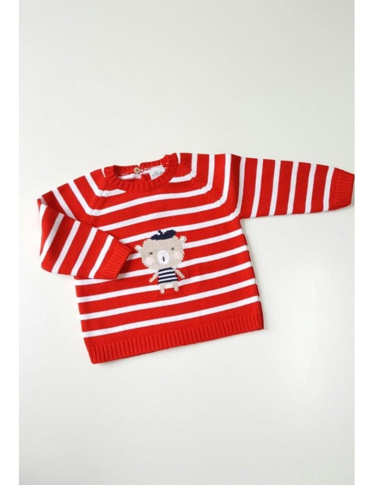 ROSITA TODO A 15€ Jersey Rayas Rojo Niño