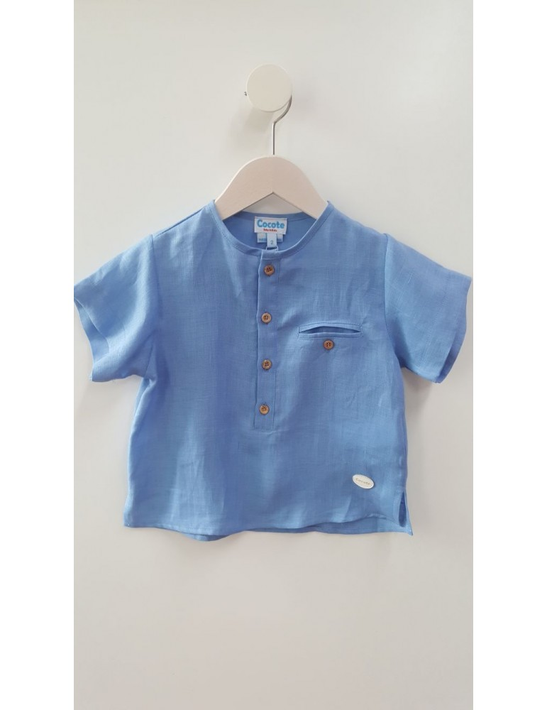COCOTE Blusas, Camisas y Camisetas  Camisa Azul