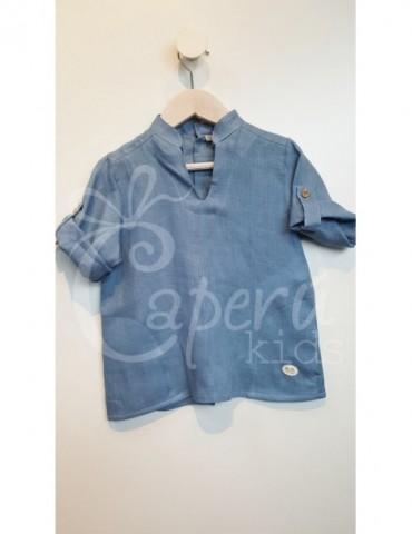 JOSÉ VARÓN TIENDA Camisa Azul