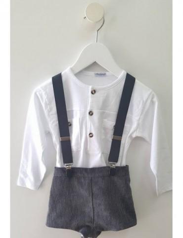 ANCAR NOVIEMBRE MES DEL OUTLET Camiseta Algodón Blanca Unisex