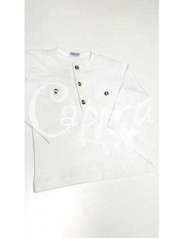 ANCAR Inicio Camiseta Algodón Blanca